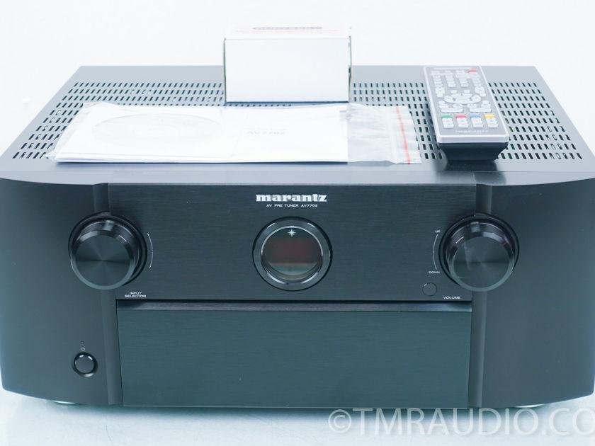 Marantz AV7702 Preamplifier; 11.2ch Processor; Tuner (9033)