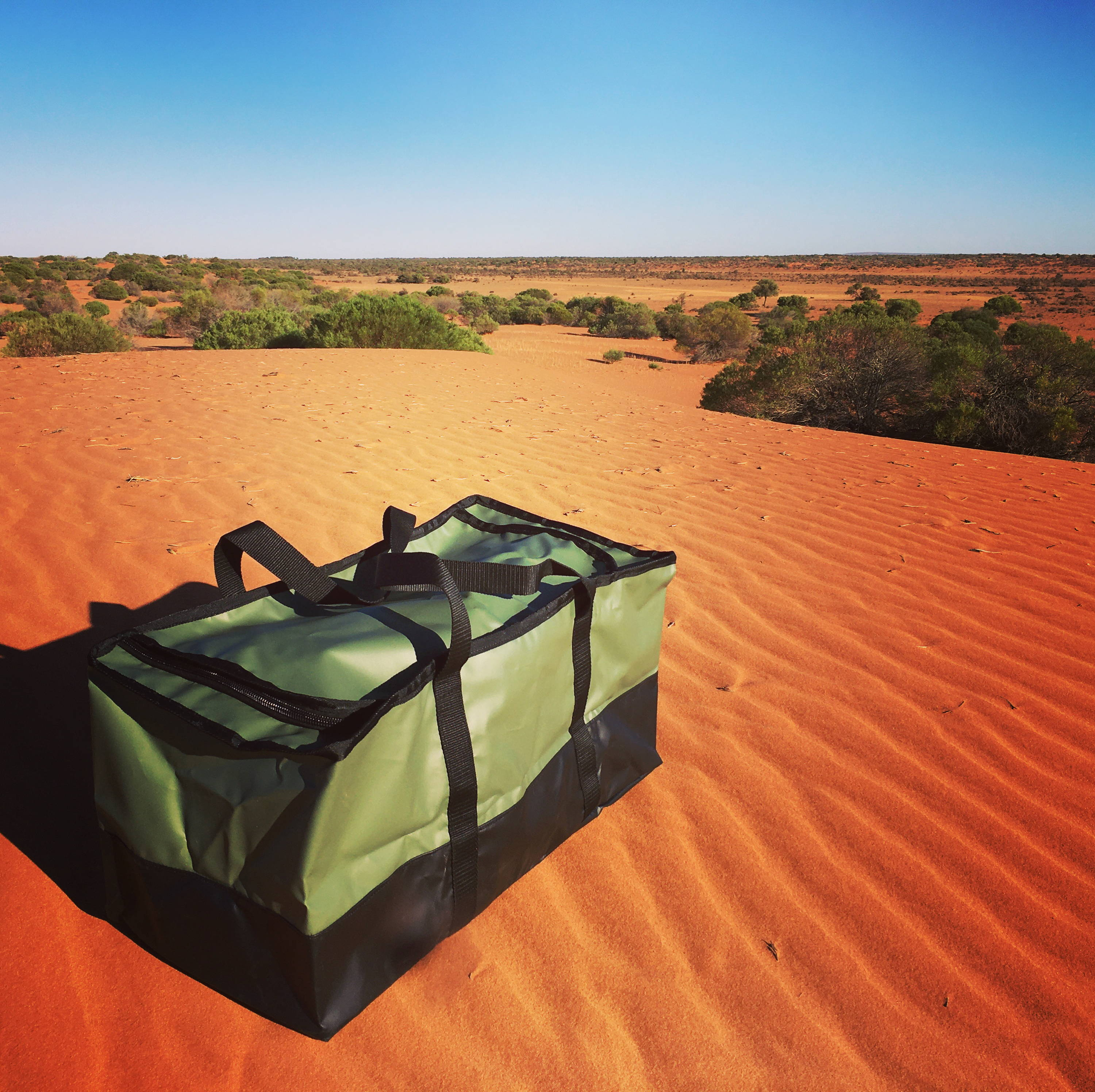 Camping gear bags for caravans and campers