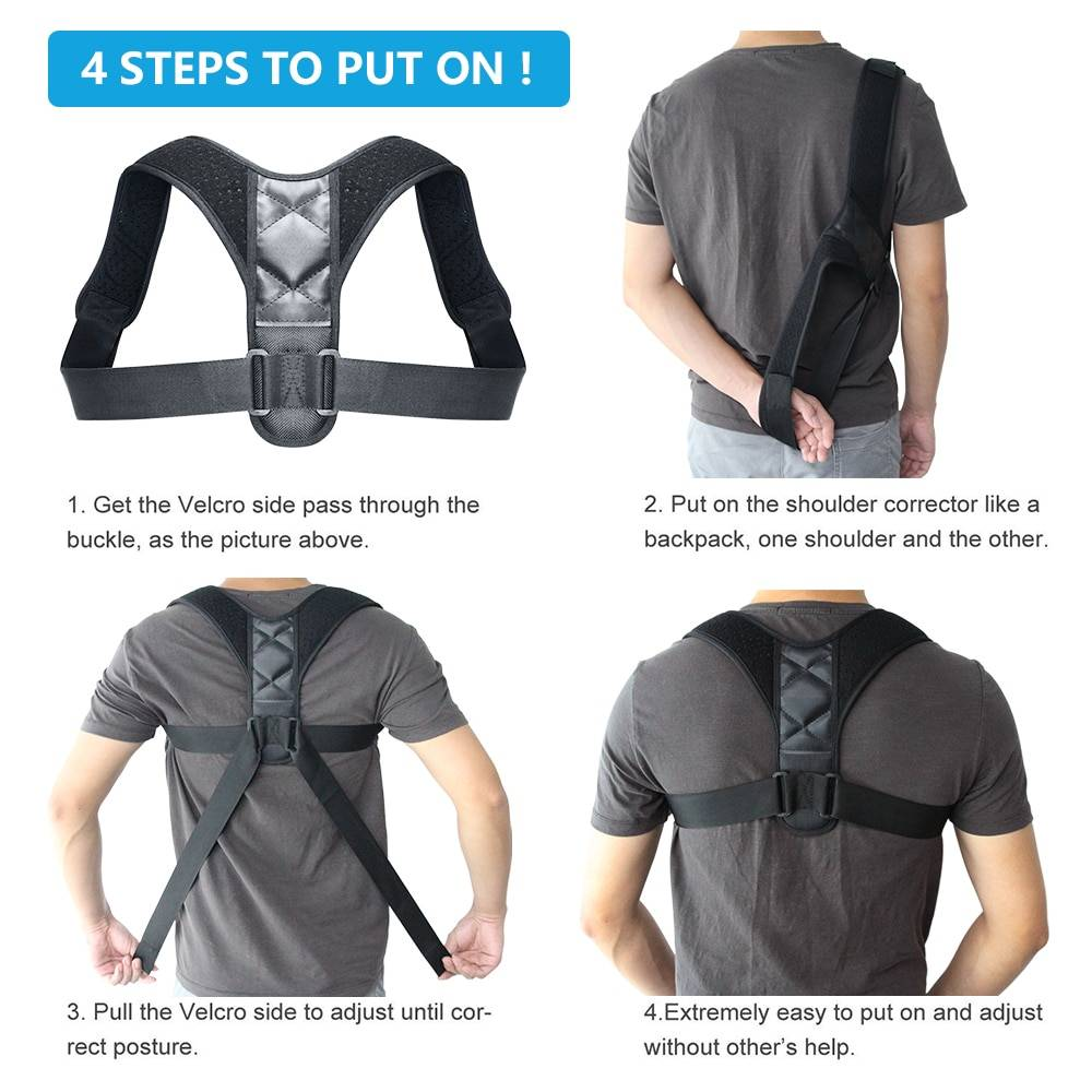 easy to put back posture corrector