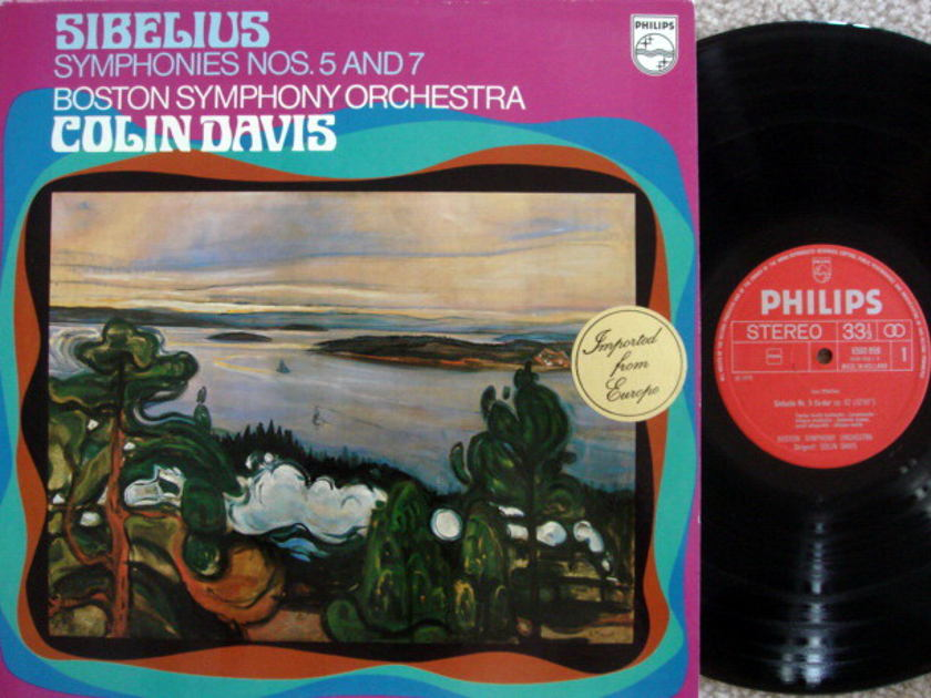 Philips / DAVIS, - Sibelius Symphony No.5 & 7, MINT!