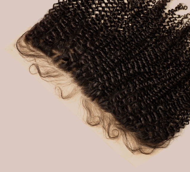 Curly Natural Black Frontals Mayvenn