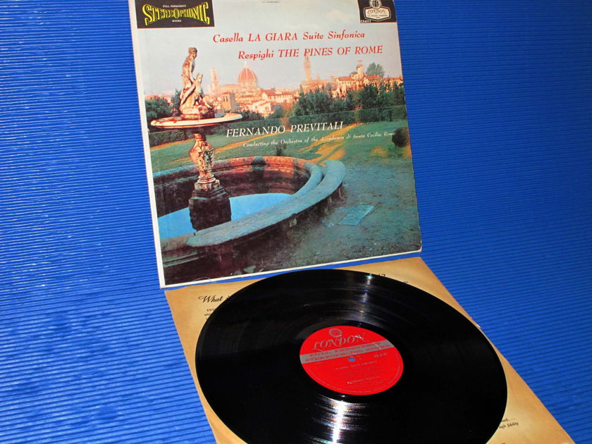 Casella/Respighi/Previtali -  -  La Giara/Pines of Rome - London 'BB' 1959 early pressing