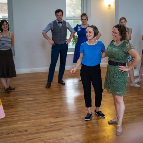 Picture of Beginner level swing dance class. 4-week series. No partner or experience required!