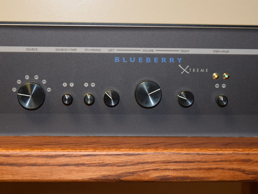 Juicy Music Audio Blueberry Xtreme w/Cream Blueberry Xtreme