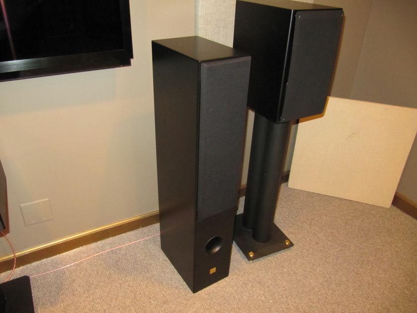AERIAL ACOUSTICS MODEL 6 -LATEST VERSION-BLACK 3 way w/ 6 1/2 inch bass & 6 1/2 mid