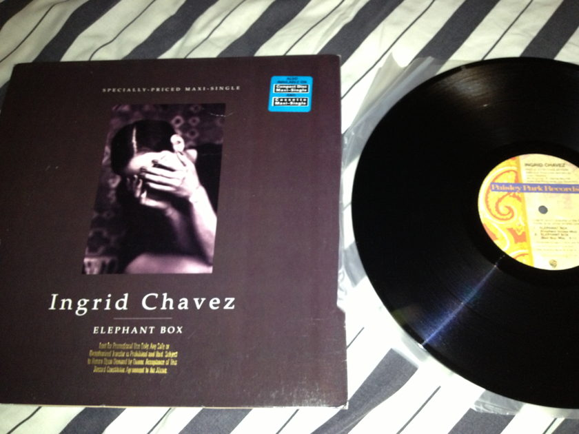 Ingrid Chavez - Elephant Box 12 Inch EP NM Paisley Park Label