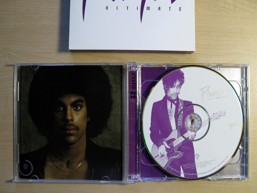 Prince - Ultimate - Double CD Collection - 2006 Warner Bros. Records ‎R2 73381