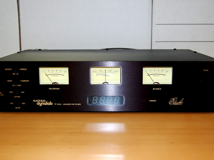 Magnum Dynalab Etude FT101 superb FM tuner