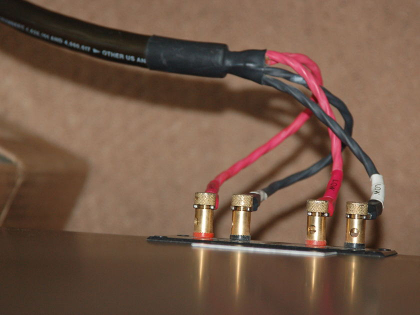 Cardas Audio Golden Hexlink 5-C Biwire Speaker pair 8 foot