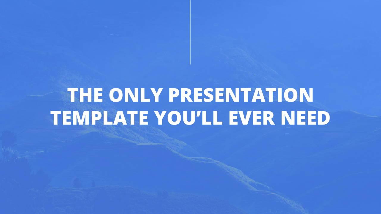Modern X App/Software Showcase Presentation Template Subtitle