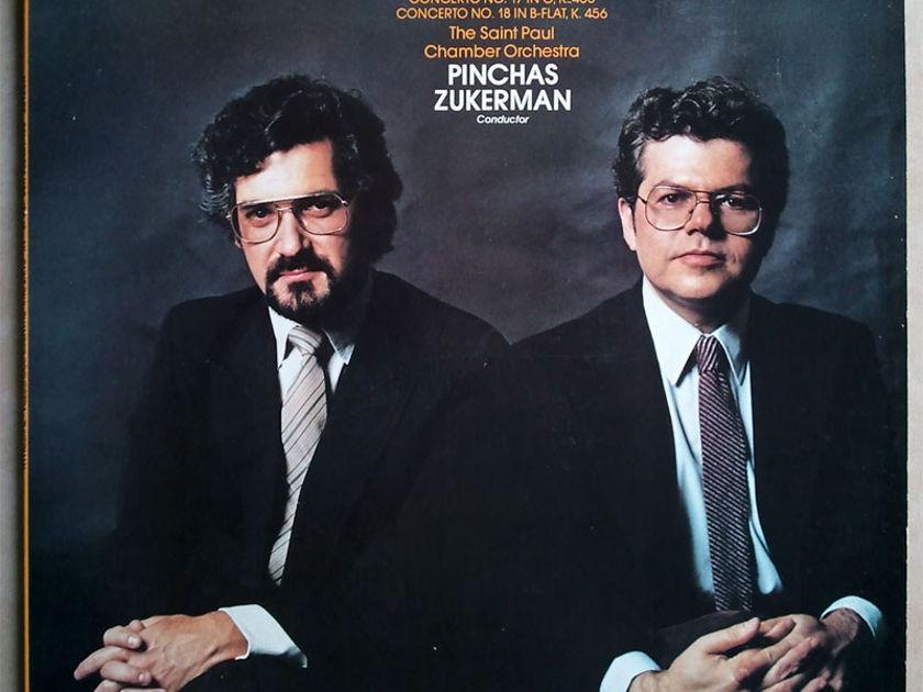 RCA Digital/Emanuel Ax/Jukerman/Mozart - Piano Concertos Nos. 17 & 18 / NM