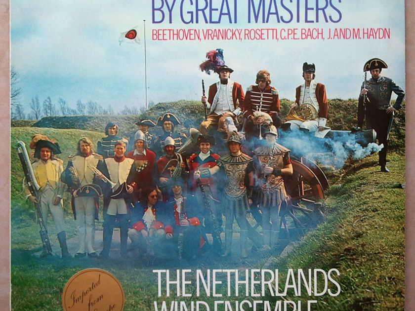 PHILIPS | NETHERLANDS WIND ENSEMBLE/MARCHES - by Beethoven, Bach, Haydn, Vranicsky, Rosetti / NM