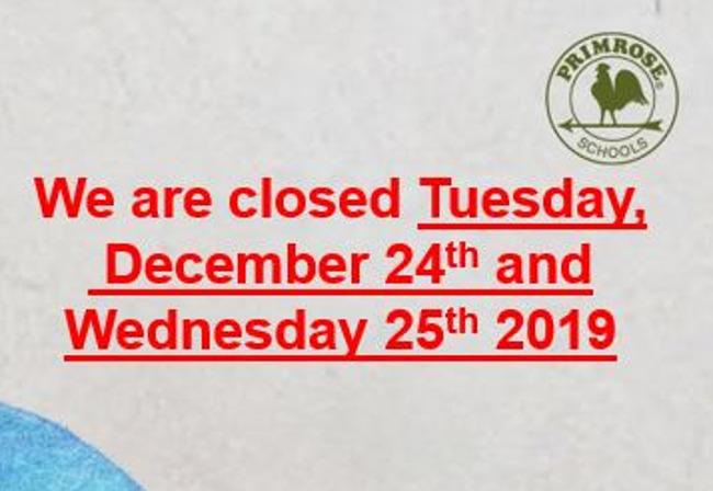 December Closing