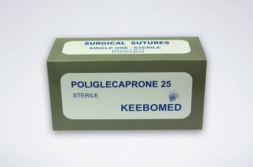 Poliglecaprone 25 (Monocryl) Veterinary Surgical Sutures