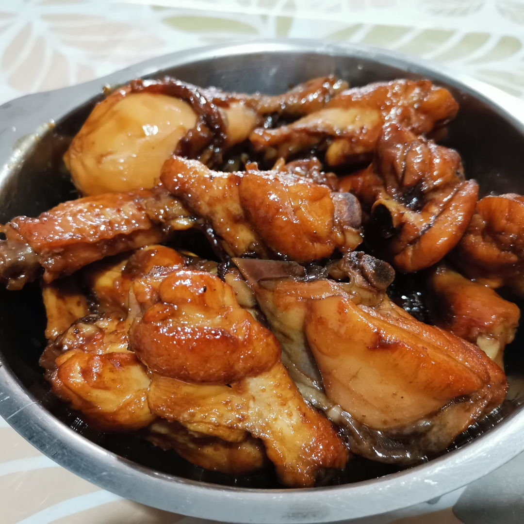 Coke braised chicken