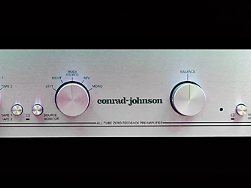 Conrad Johnson  PV-11 Preamp with phono section