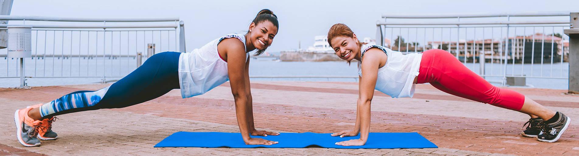 Frauen beim Sport - bonmedico