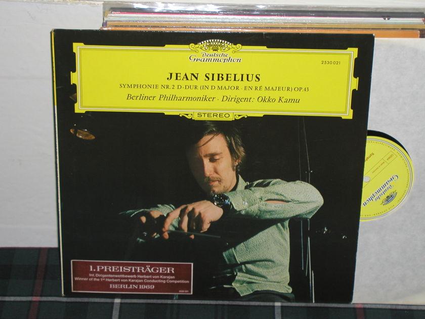 Kamu/BPO - Sibelius Symp. No. 2  LP DG german import  press