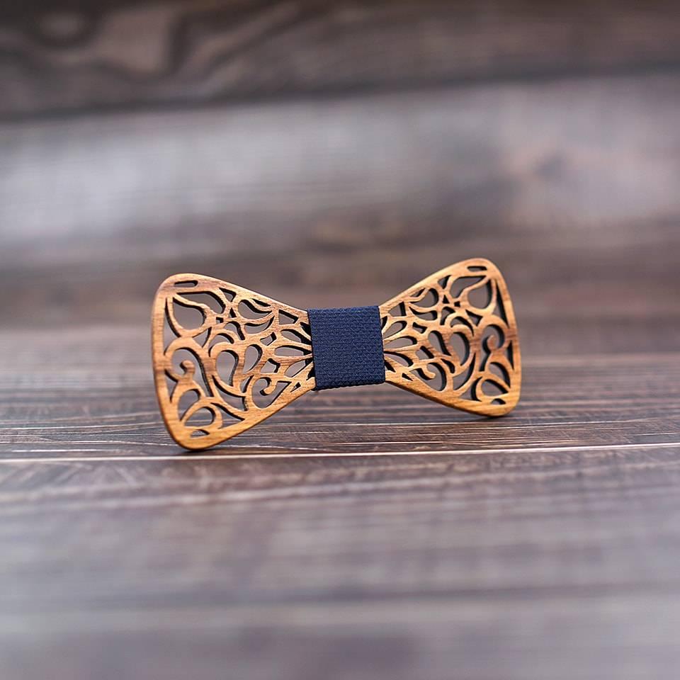 noeud papillon bois