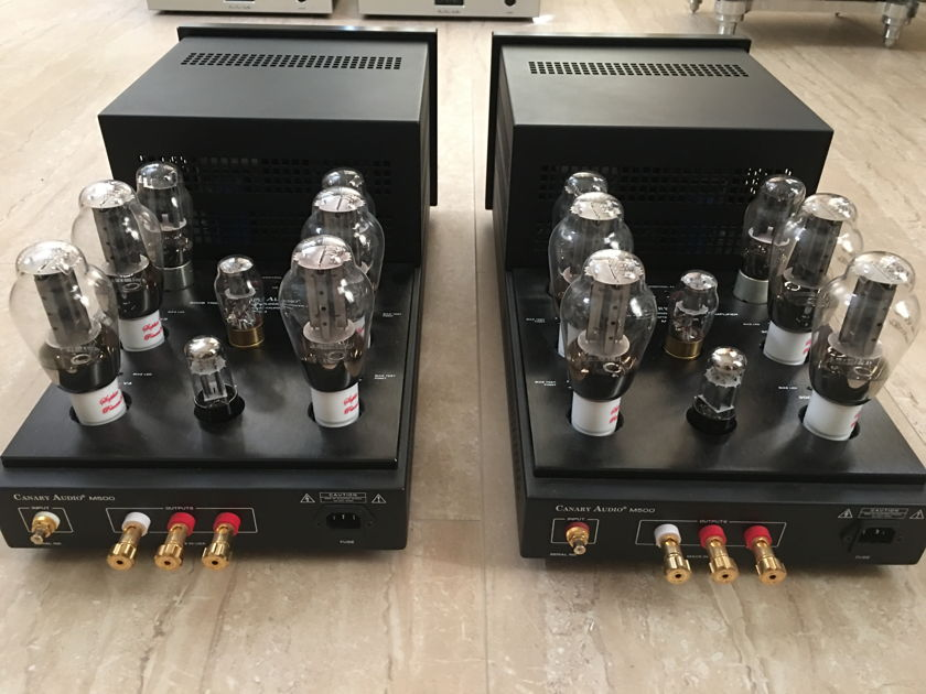Canary Audio M500 300B tube monoblock amplifier  Excellent condition