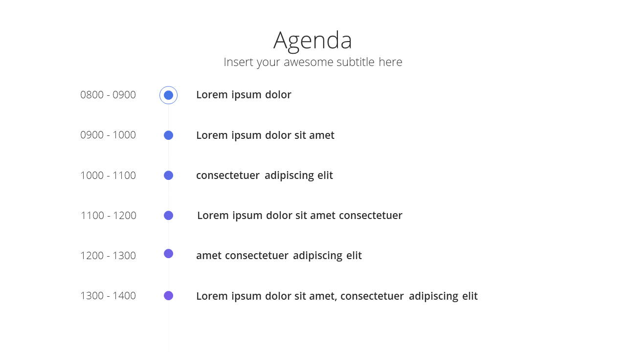 Modern X  Company Profile Presentation Template Agenda