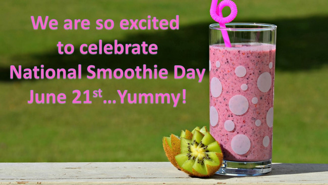smoothie day