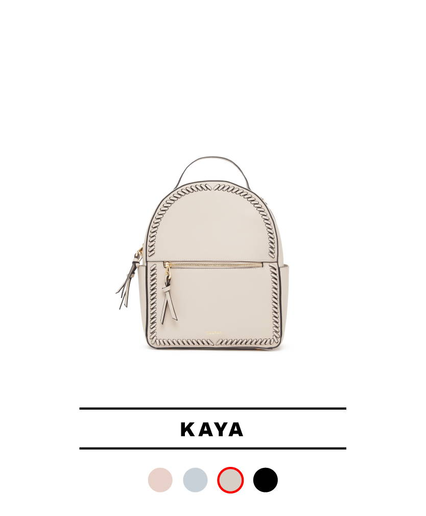 Kaya Backpack in Stone