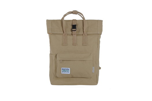 Бежевый рюкзак rolltop