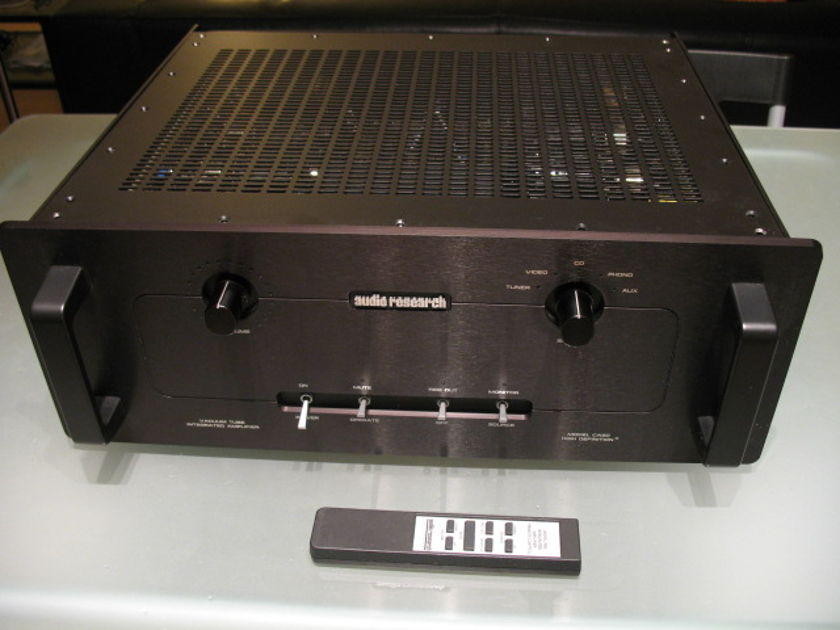 Audio Research CA50 black faceplate