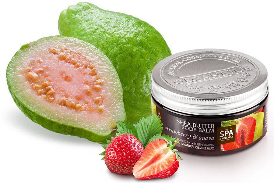 Nourishing Shea Body Butter With Strawberry & Guava 100ml from Organique cosmetics