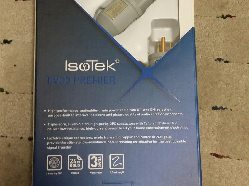 Isotek EVO3 Premier Power  Power Cord 20 amp
