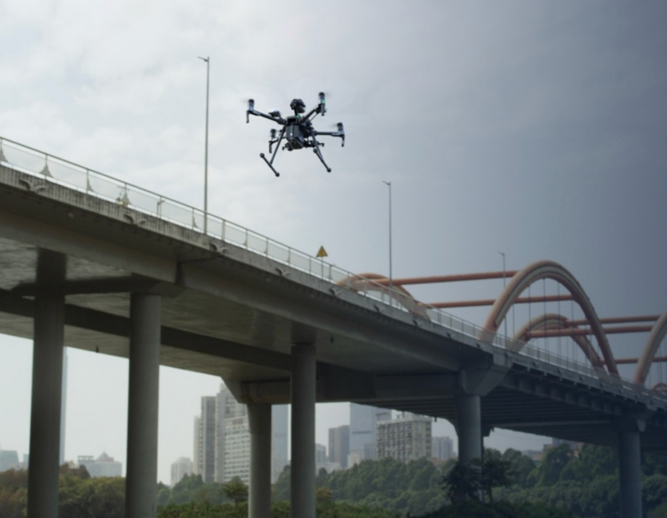 DJI Matrice 200 Series Bridge Inspection