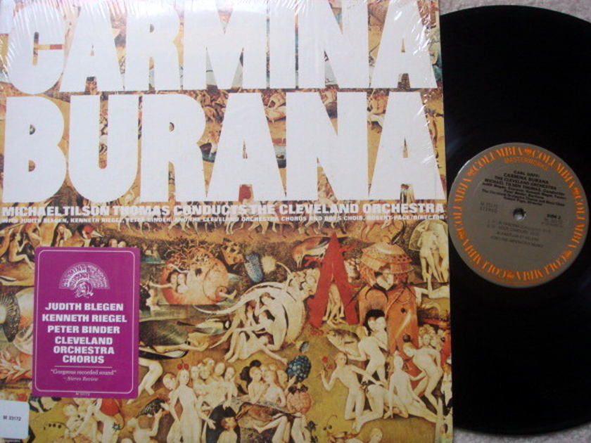 Columbia / TILSON THOMAS, - Carl Orff Carmina Burana, MINT!