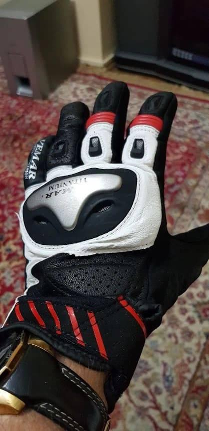 gants trottinette titanium securite