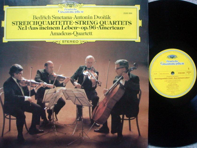 DG / AMADEUS QT, - Smetana-Dvorak String Quartets, NM!