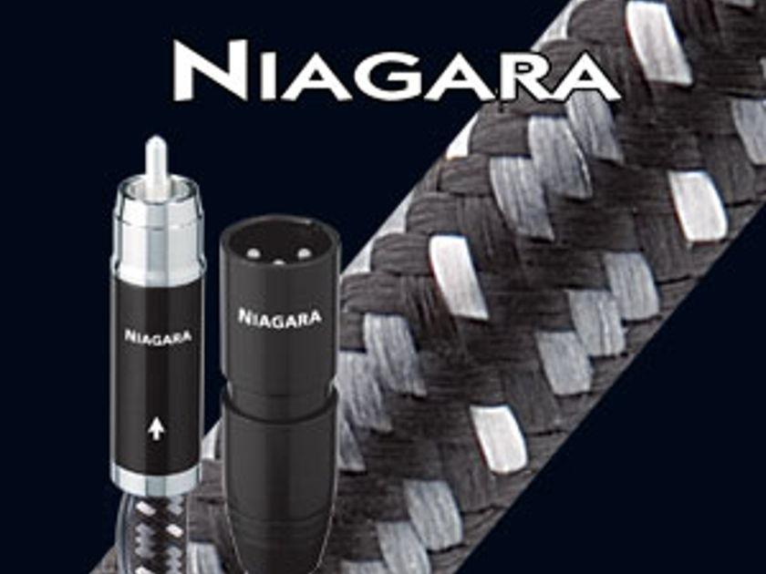 AudioQuest Niagara 1.0MX XLR Interconnect pair