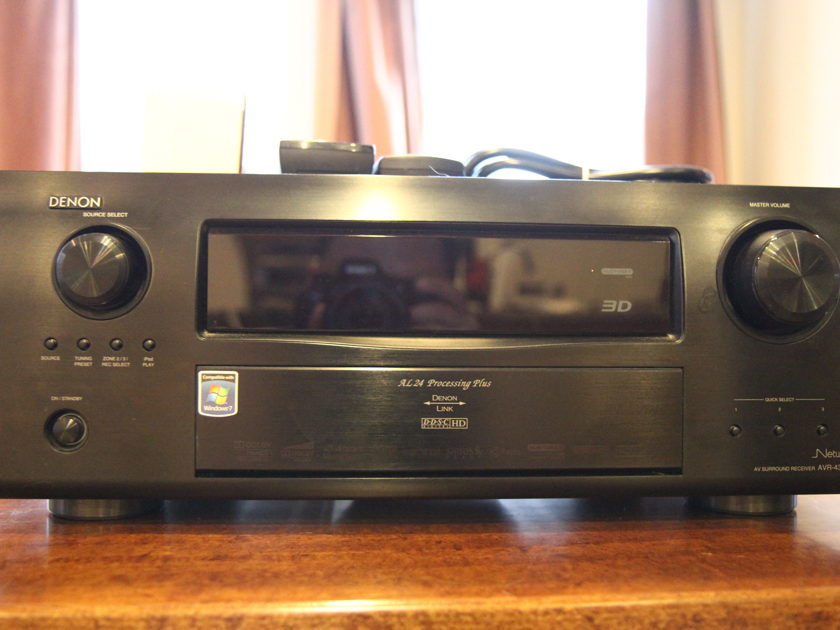 Denon 4311 with mic and remotes