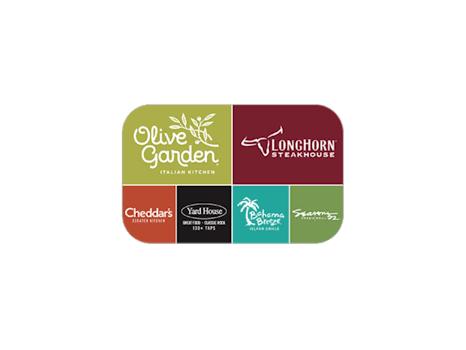 $150 in Darden Family Restaurants Gift Cards