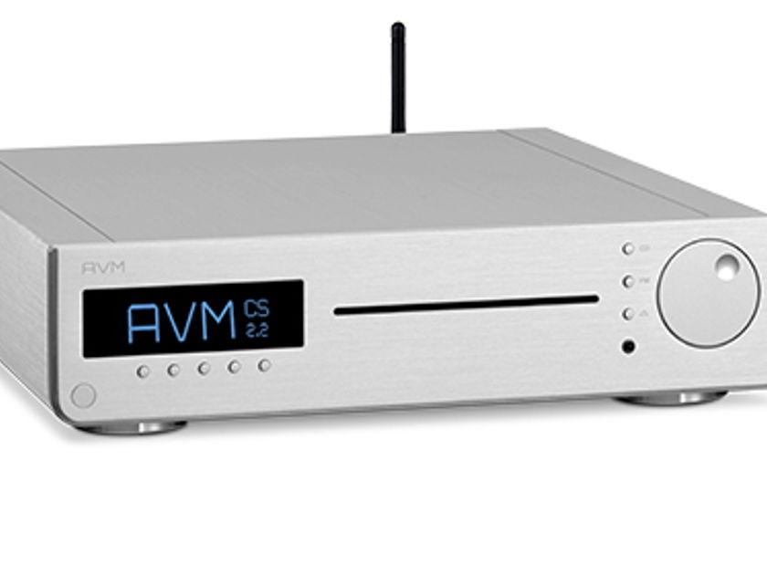 AVM AUDIO CS-2.2 CD PLAYER AMP STREAMER AWARD WINNING - REMARKABLE!