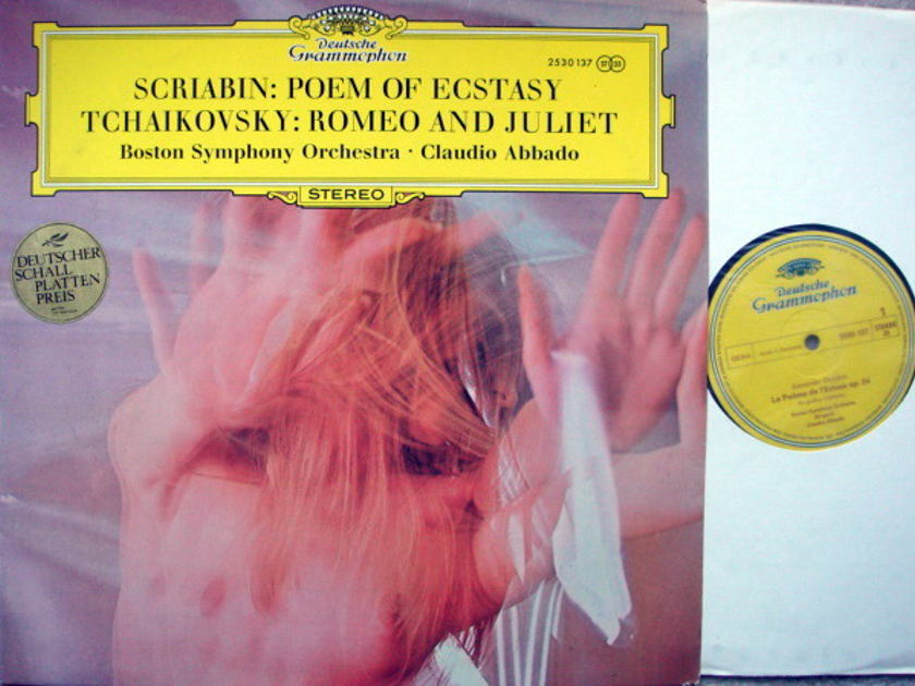 DG / ABBADO-BSO, - Tchaikovsky Romeo & Juliet, MINT!