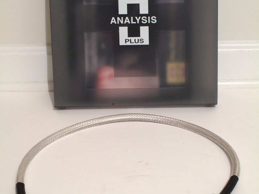 Analysis Plus Power Oval 2 3' cord oyaide p079 c079 ends