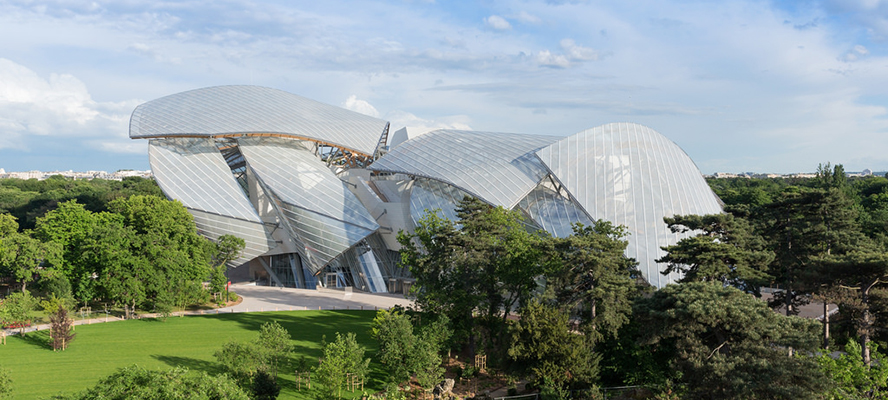 Paris - Engel & Völkers Paris - Fondation Louis Vuitton - source photo :  Iwan Baan