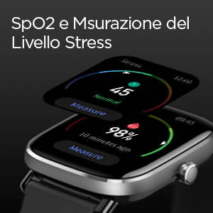 Amazfit GTS 2 mini - SpO2 e Msurazione del Livello Stress