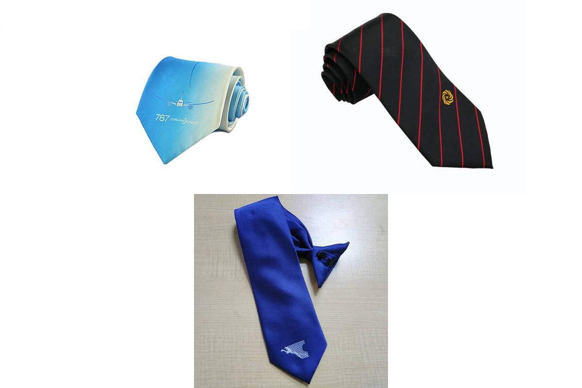 Airlines Custom Logo Necktie