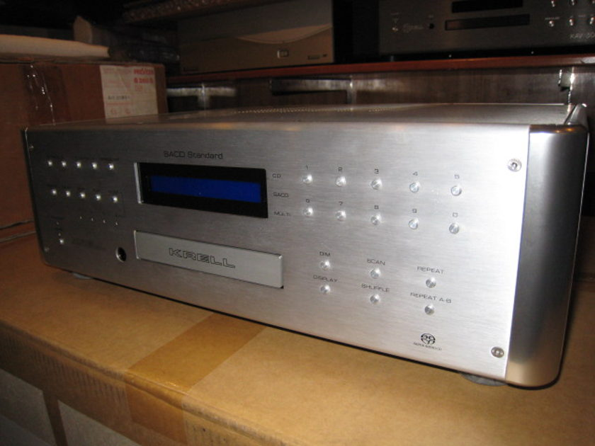 Krell SACD Standard MKIII Player - The one and only
