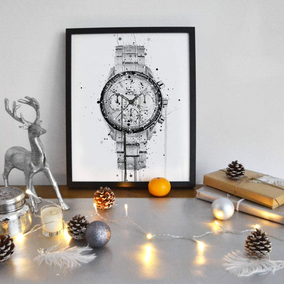 Christmas Gifts For Him Watch Wall Art