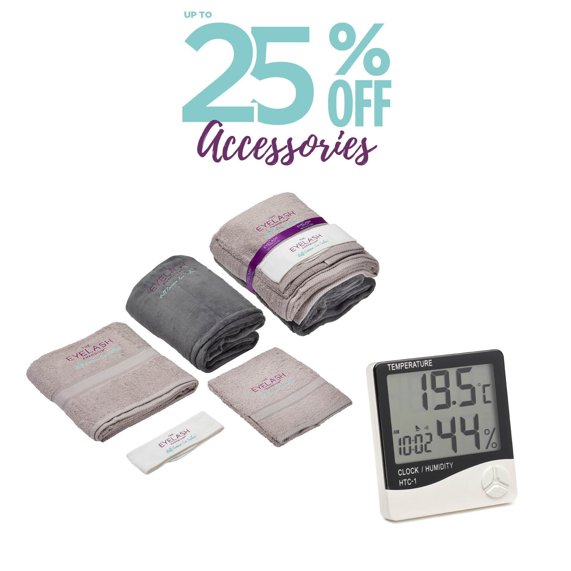 Up to 25% off accessories