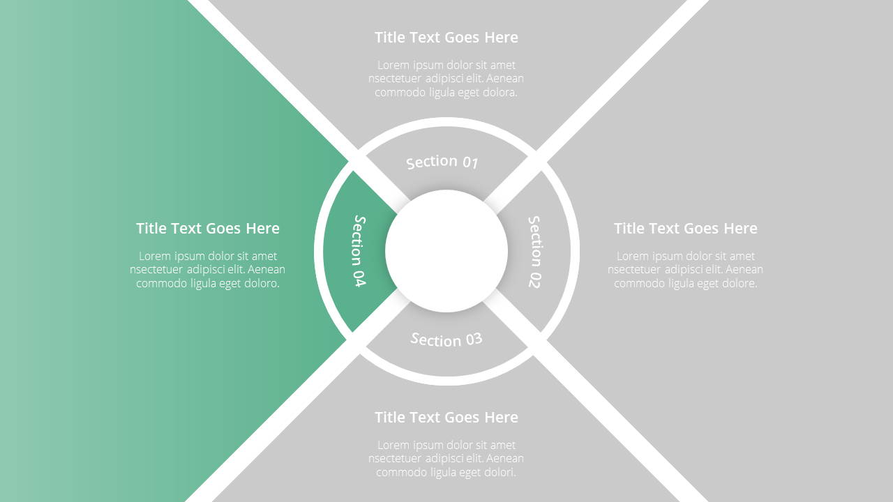 Modern X Consulting Firm Proposal Presentation Template Agenda