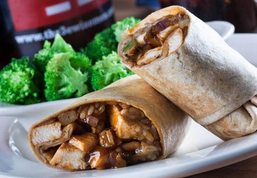 Spicy Luau Wrap