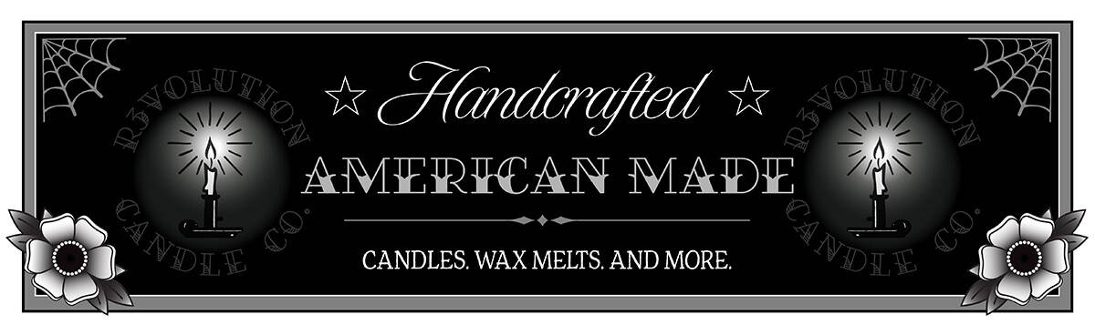 Handcrafted Candles, Made in America and inspired by traditional American life